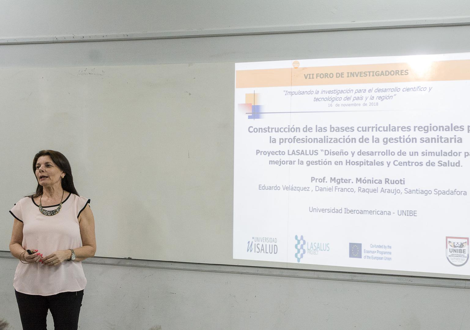 VII Foro de Investigadores – Construcción de las bases curriculares regionales para la profesionalización de la gestión sanitaria